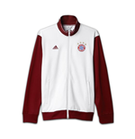 2016-2017 Bayern Munich Adidas 3S Track Top (White)