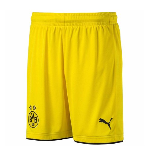 2016-2017 Borussia Dortmund Home Puma Shorts (Yellow)
