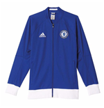 2016-2017 Chelsea Adidas Anthem Jacket (Blue)