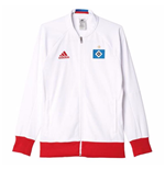 2016-2017 Hamburg Adidas Anthem Jacket (White)