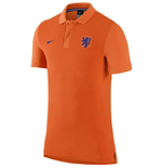 2016-2017 Holland Nike Authentic GS Slim Polo Shirt (Orange)