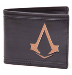 Assassins Creed Wallet - Copper Colour Logo Print