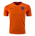 2016-2017 Holland Home Nike Football Shirt