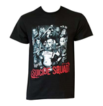 SUICIDE SQUAD Montage Tee Shirt