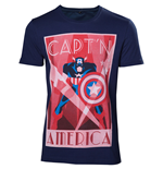 Captain America T-Shirt Shield Up