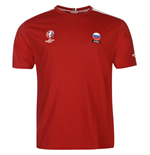 Russia UEFA Euro 2016 Core T-Shirt (Red)