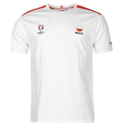 Poland UEFA Euro 2016 Core T-Shirt (White)