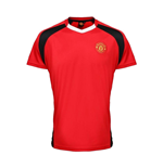Official Man Utd Training T-Shirt (Red)
