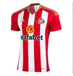 2016-2017 Sunderland Adidas Home Football Shirt