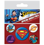 Superman Pin Badge Pack
