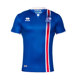 2016-2017 Iceland Home Errea Football Shirt (Kids)