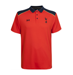 2016-2017 Tottenham UA Team Polo Shirt (Orange)