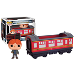 Harry Potter POP! Rides Vinyl Vehicle with Figure Hogwarts Express Traincar 2 & Ron 12 cm