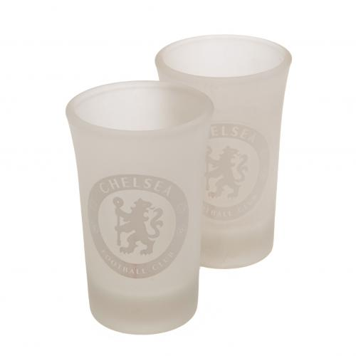 Chelsea F.C. 2pk Shot Glass Set FR