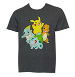 POKEMON Pikachu and Friends Tee Shirt
