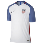 2016-2017 USA Home Nike Authentic Vapor Match Shirt