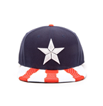 Captain America Civil War Snap Back Baseball Cap Logo