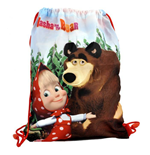 Masha and the Bear (Nature) bag for shoes