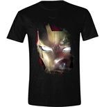 Captain America - Civil War T-shirt - Iron Man Reflection Black