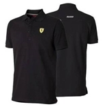 Ferrari Black Polo shirt