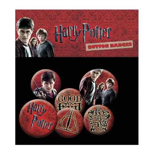 Harry Potter Button Badge Set