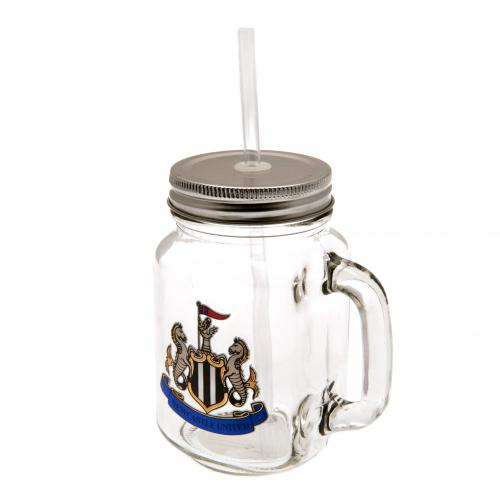Newcastle United F.C. Mason Jar
