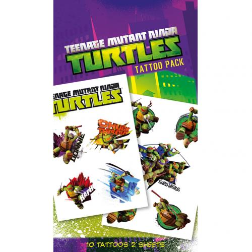 Teenage Mutant Ninja Turtles Tattoo Pack