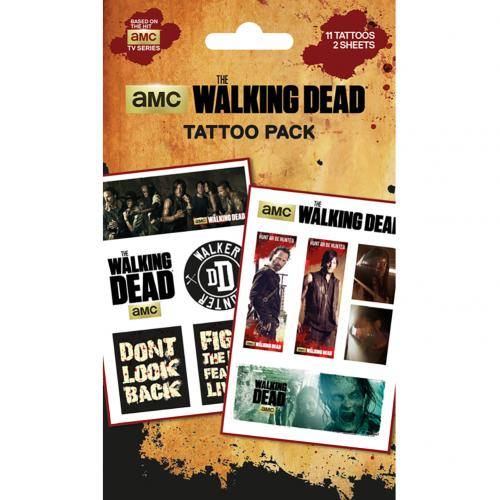 The Walking Dead Tattoo Pack