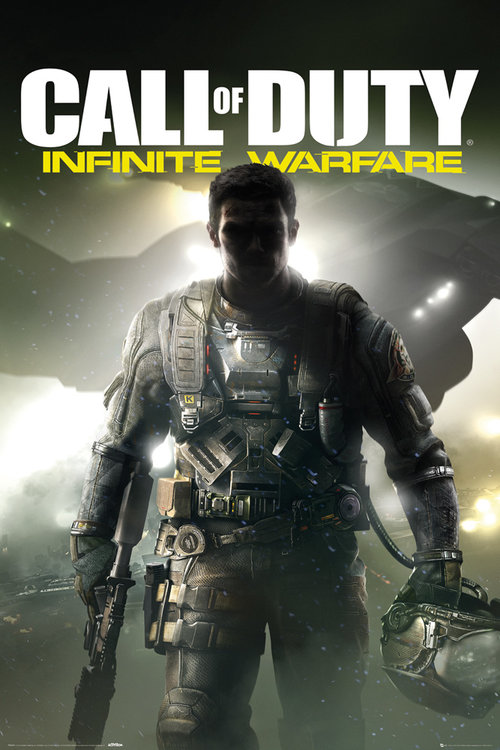 Call of Duty Infinite Warfare Key Art Maxi Poster