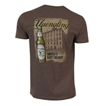 Yuengling Building Brown Tee Shirt
