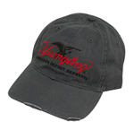YUENGLING Ripped Grey Hat