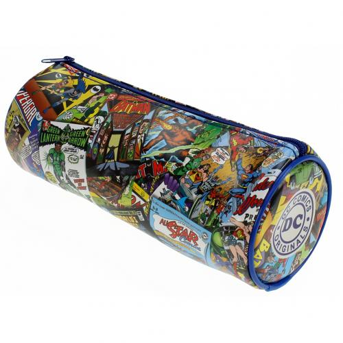 DC Comics Barrel Pencil Case