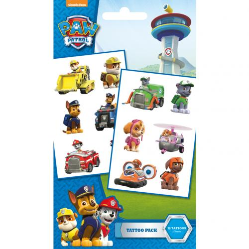 Paw Patrol Tattoo Pack VE