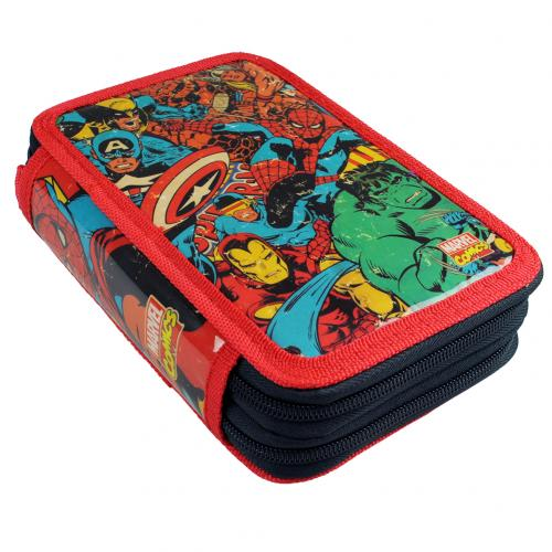 Marvel Comics Filled Pencil Case