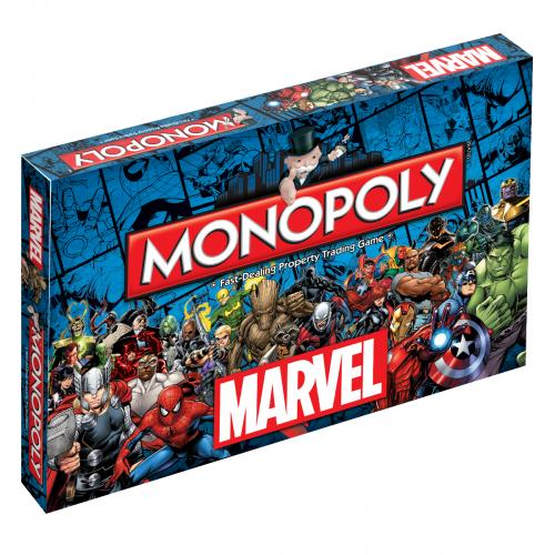 Marvel Universe Edition Monopoly