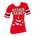 POKEMON Trainer Red Juniors Hockey Tee Shirt