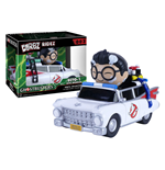 Ghostbusters POP! Ridez Vinyl Vehicle with Dorbz Figure ECTO-1 & Spengler 14 cm