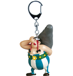 Asterix Keychain Obelix with Menhir 15 cm