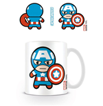 Marvel Comics Mug Kawaii Captain America