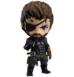Metal Gear Solid V The Phantom Pain Nendoroid Action Figure Venom Snake Sneaking Suit Ver. 10 cm