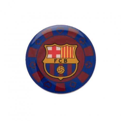 F.C. Barcelona Poker Chip Badge