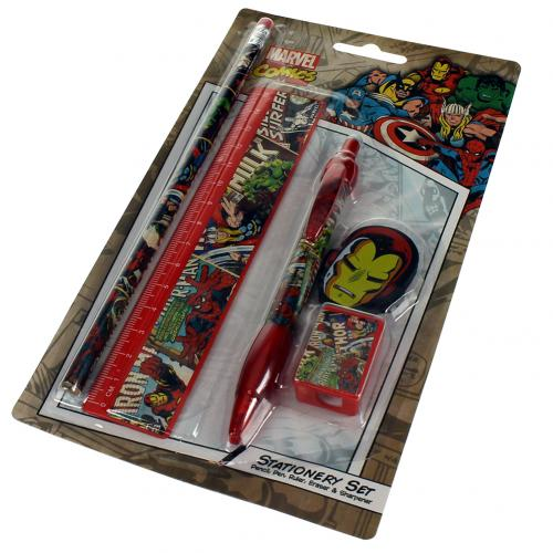 Marvel Comics Stationery Set