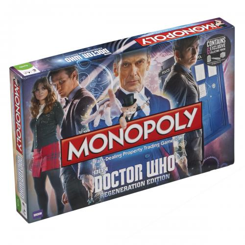 Doctor Who Edition Monopoly