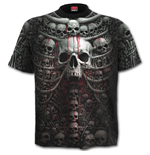Death Ribs - Allover T-Shirt Plus Size Black