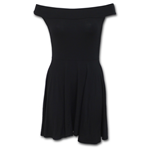 Urban Fashion - Bardot Neck Skater Dress
