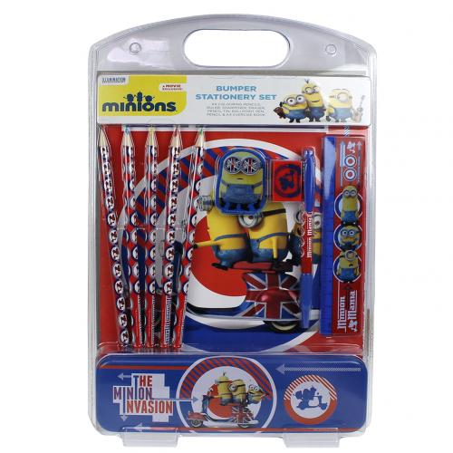 Minions Bumper Stationery Set