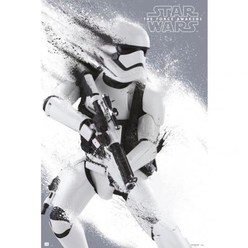 Star Wars The Force Awakens Poster Stormtrooper 205