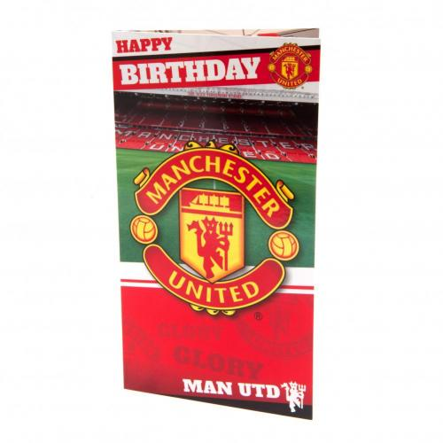 Manchester United F.C. Birthday Card Stadium