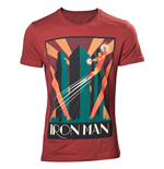 Marvel Comics T-Shirt Iron Man Flying