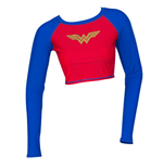 WONDER WOMAN Rash Guard